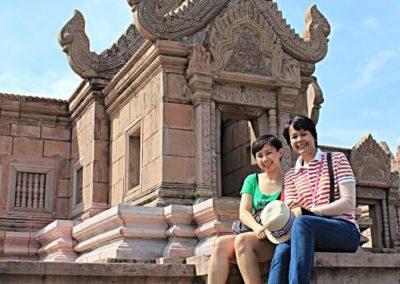 peah vihear , ancient city bangkok