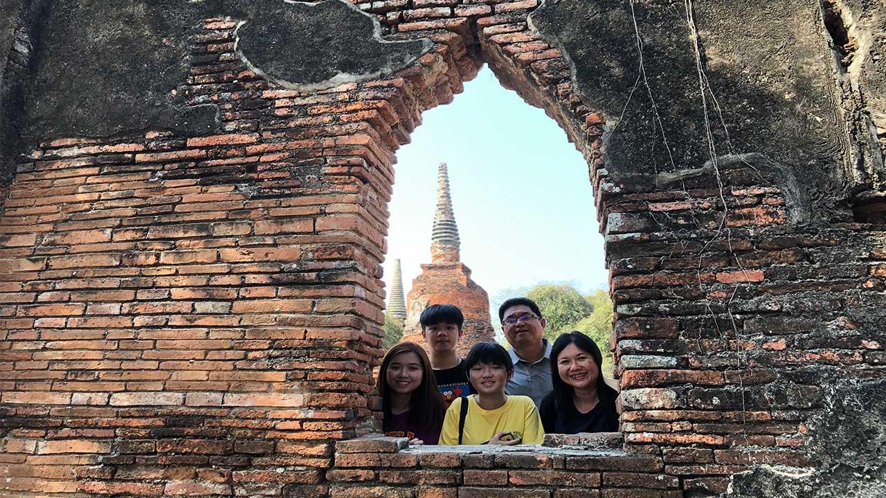 Ayutthaya wat phrasrisanphet