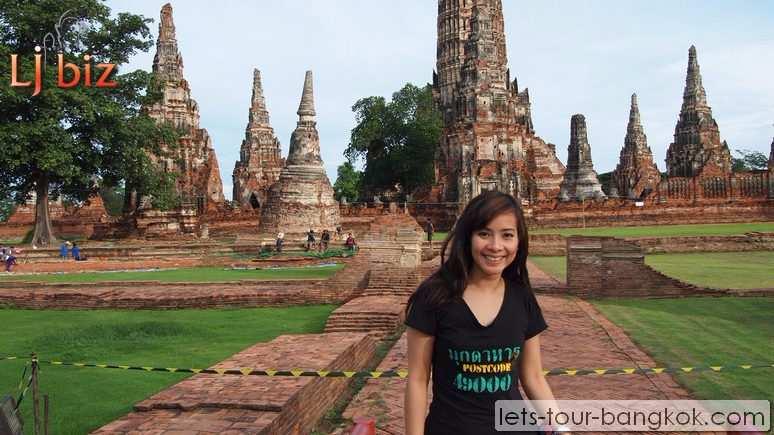 AYU ayutthaya wat chaiwattanaram