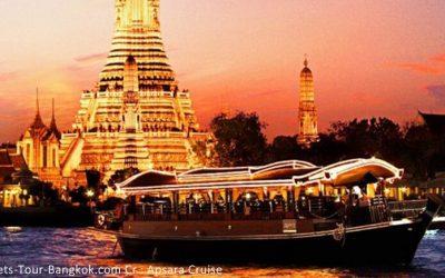 Various ways of enjoying the Bangkok river cruise