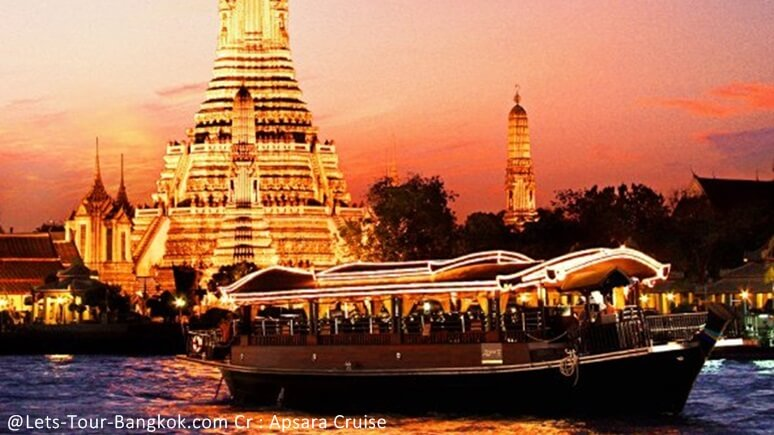 Various ways of enjoying the Bangkok river cruise