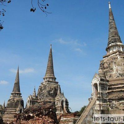 Ayuttaya Wat Phrasrisanphet