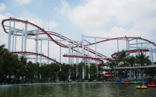 Roller coaster dream world bangkok