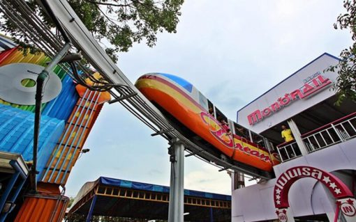 roller coaster for child dream world