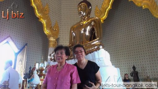 golden buddha wat trimit chinatown