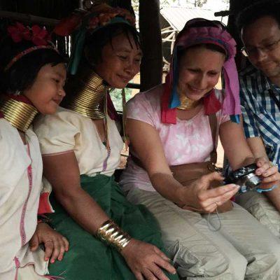 Chiang rai long neck people