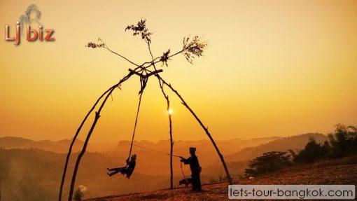 Hill tribe Chiang Rai