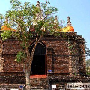 Chiang mai wat jetyod