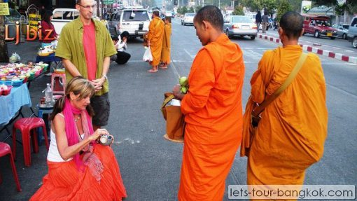 Chiang Mai local culture of rituals of Buddhism
