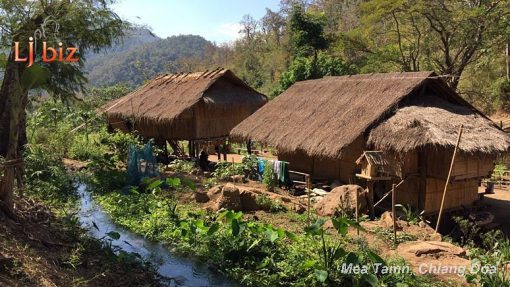 maetaman hill tribe village