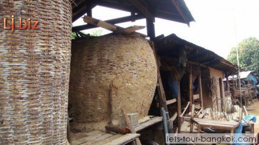 HuaHin rice storage traditional