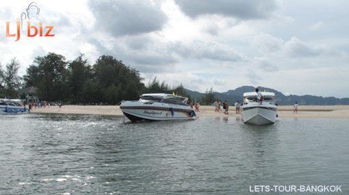 Krabi 4 island; Phra Nang cave; Tup Island; Chicken Island; Poda Island;