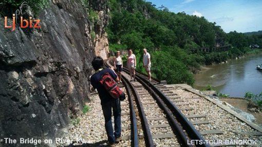 Kanchanaburi river kwai train