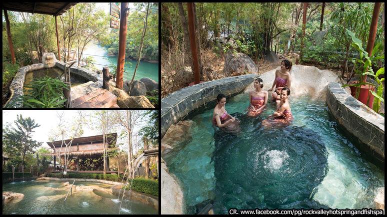 Kanchanaburi Rock Valley Hot Spring and Fish Spa