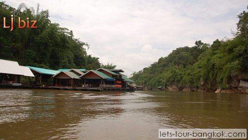 river kwai raft house