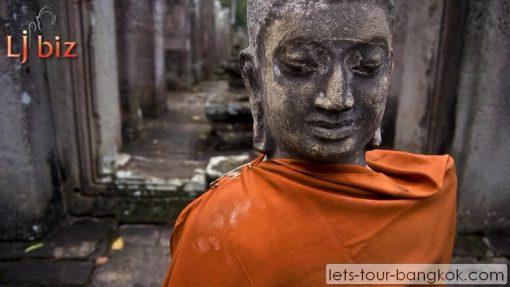 REP angkor wat buddha statue