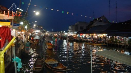 Samut Songkhram Amphawa floating market