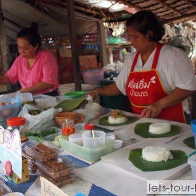 Samutprakan Bang Namphung Floating Market
