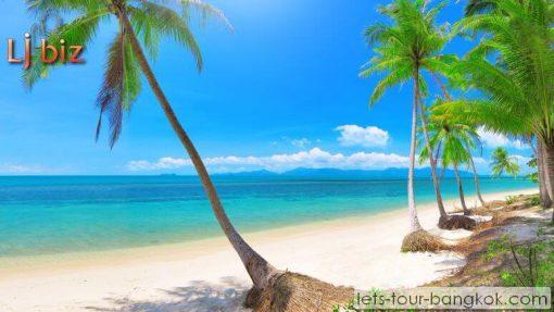 Samui beach , wonderful beach in thailand