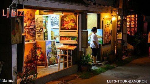 samui art market