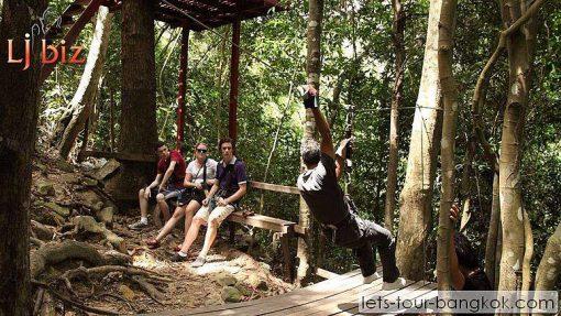 canopy ride in samui
