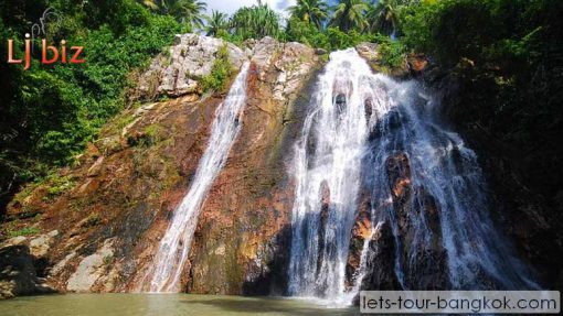samui hin lad waterfall temple