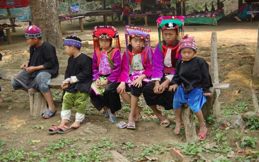 Hill tribe in Chiang dao