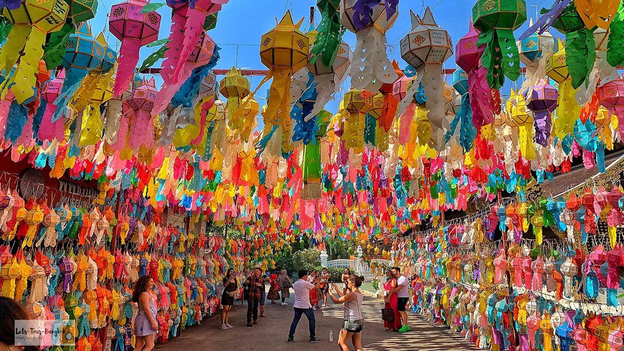 Chiang mai temple festival