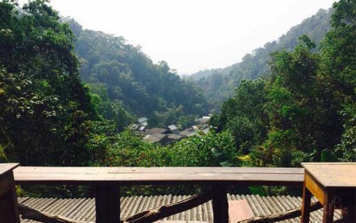 Mae Kampong village view