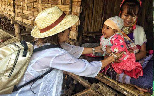 Hill tribe in Maetaman