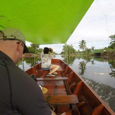 boat trip klong Mahasawat