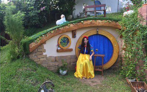baan suan noi, Hobbit house Korat