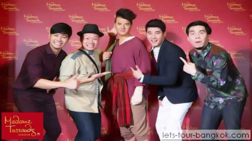 madam tussauds museum Bangkok