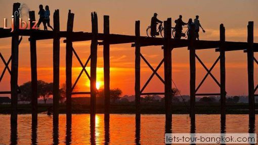 myanmar MDL u bein bridge
