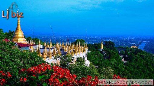 myanmar kyaik hto golden rock pagoda