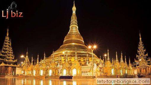 myanmar in Ranggon shwedagon pagoda