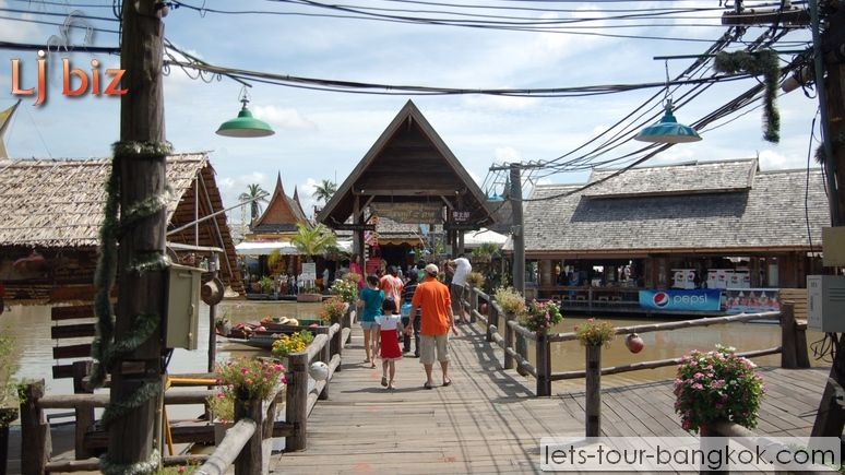 pattaya four region floating market
