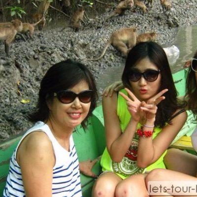 samut songkhram klong klone FisherMan Village