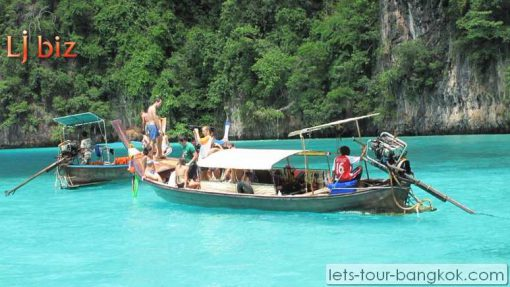 long tail boat phi phi tour