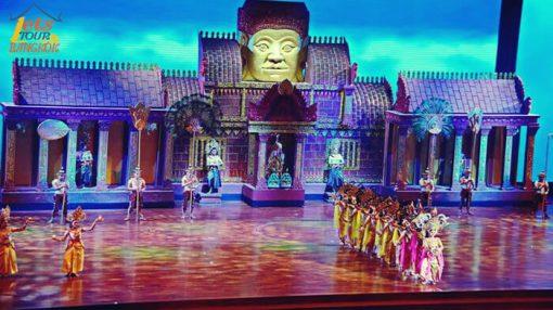 Noung Nooch garden Thai culture show