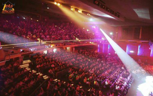 Seat of Tiffany show