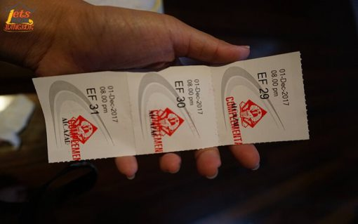 Ticket Tiffany show