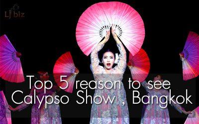 Top 5 reason to see Calypso Show, Cabaret Bangkok