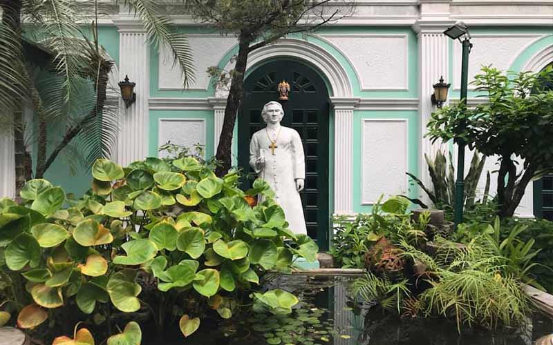garden in prasart museum