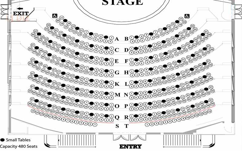 Calypso stage