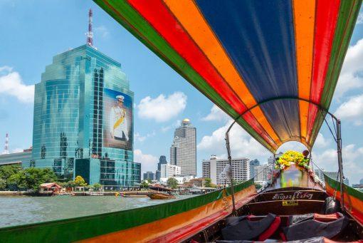 Bangkok longtailed boat