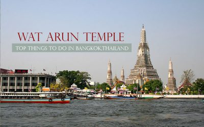 Wat Arun temple , Top royal temple along the river
