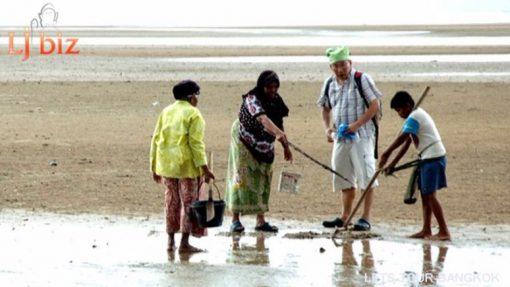 Krabi Koh Klang find crab