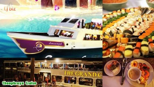 Service of Chaophraya cruise - food