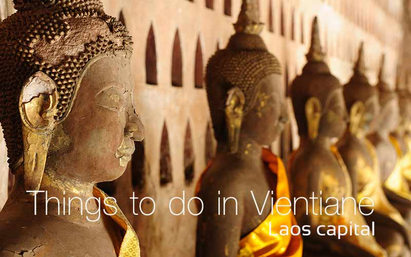 Things to do in Vientiane , Laos capital